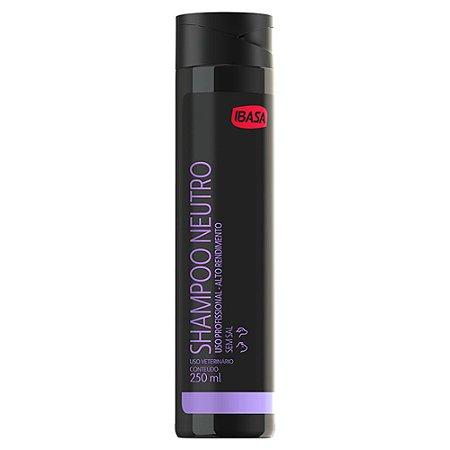Shampoo Ibasa Neutro 250ml - Uso Profissional