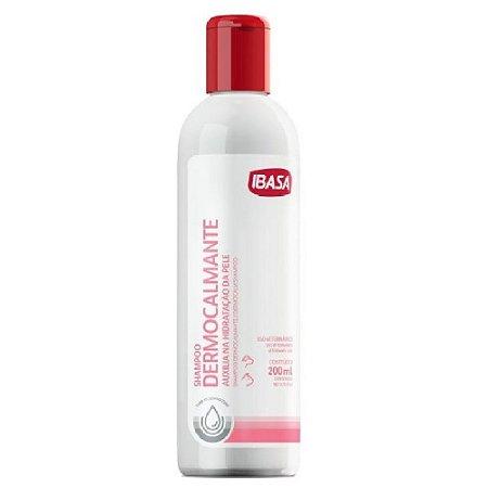 Dermocalmante Shampoo 200ml Ibasa Hidratação Da Pele