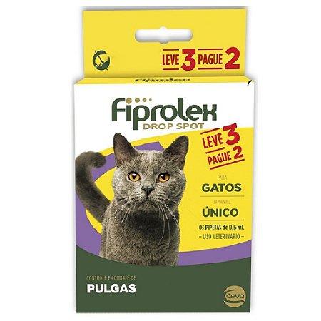 Antipulgas Ceva Fiprolex Para Gatos Pague 2 Leve 3