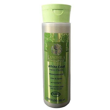 Shampoo White Coat Camomila 300ml Ecovet