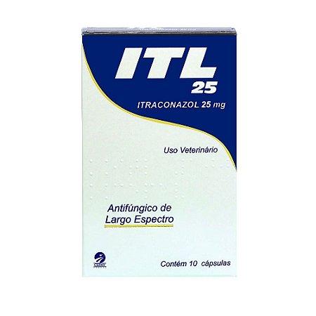 Antifúngico ITL 25 Cepav 10 cápsulas
