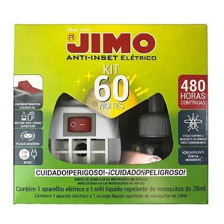 Jimo Anti-Inset 60 Noites Aparelho + Refil Líquido Mosquitos