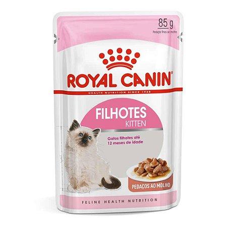 Ração Úmida Royal Canin Gatos Filhotes Kitten Wet 85g
