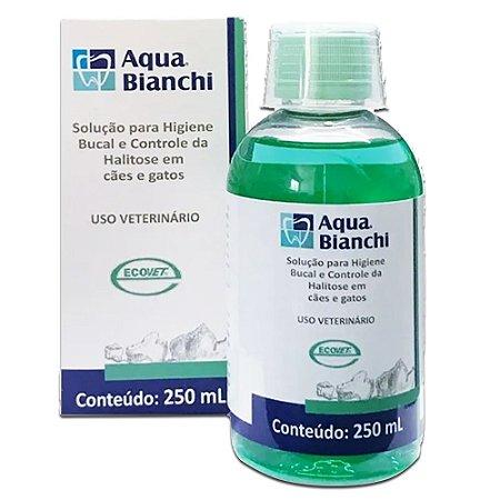 Aqua Bianchi 250ml Solução Higiene Oral - Ecovet