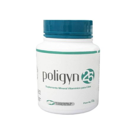 Suplemento Poligyn 25 - 30cps Nutripharme