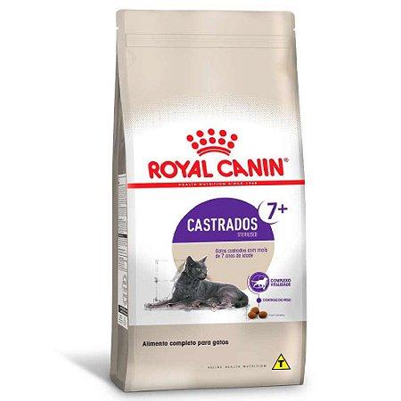 Ração Royal Canin Gatos Adultos Castrados Acima 7 Anos Sterilised 400g