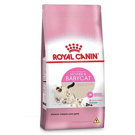 Ração Royal Canin Gatos Mother & Babycat Filhotes de 1 a 4 Meses 1,5Kg