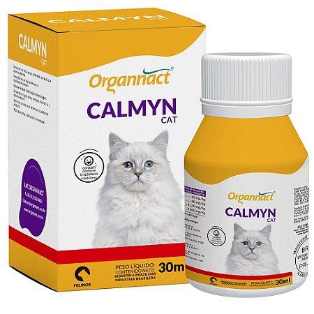 Suplemento vitamínico Organnact Calmyn Cat 30ml