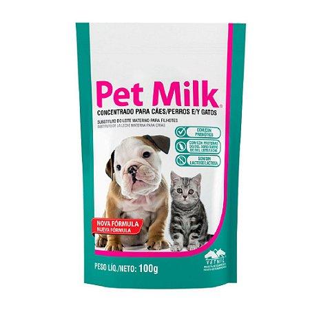 Pet Milk Sachet Substitutivo do Leite 100g - Vetnil
