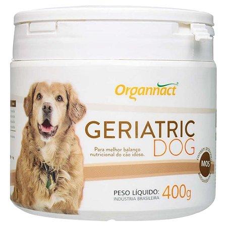 Suplemento Vitamínico Organnact Geriatric Dog 400g