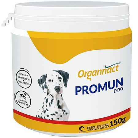 Suplemento Vitamínico Organnact Promun Dog Pó 150g