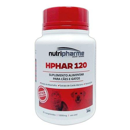 Suplemento Vitamínico Hphar 120 Nutripharme 30 Comprimidos