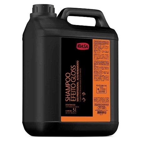 Shampoo Efeito Gloss Ibasa 5l - Uso Profissional