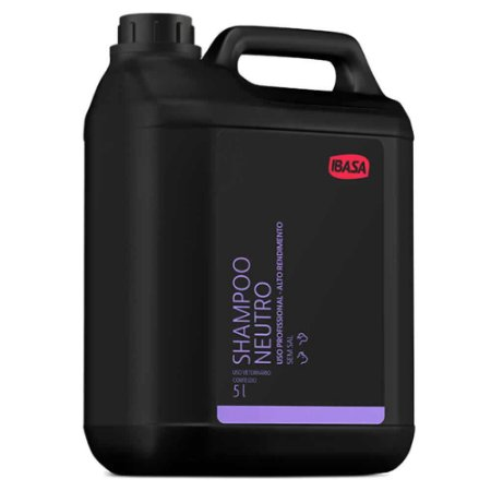 Shampoo Ibasa Neutro 5l - Uso Profissional