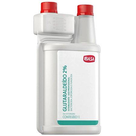 Glutaraldeido Ibasa 2% - 1l Esterilizante Uso Profissional