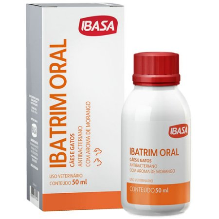 Antibacteriano Ibasa Ibatrim Oral 50ml
