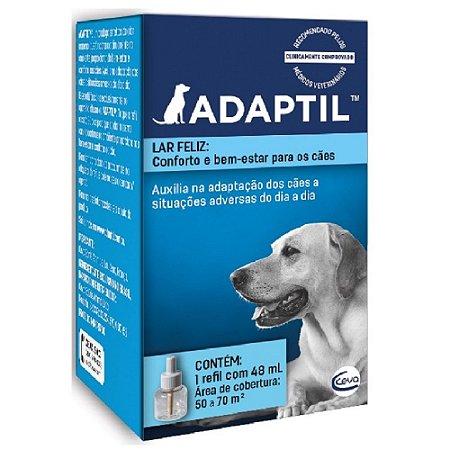 Adaptil Refil 48ml - Ceva Auxilia na Adaptação dos Cães