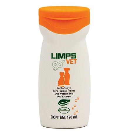 Loção Higienização Íntima Limps Vet 120ml - Ecovet