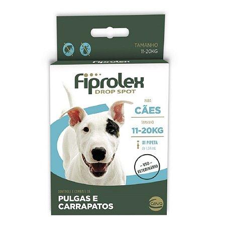 Antipulgas Ceva Fiprolex Para Cães 11kg a 20kg 1,34ml