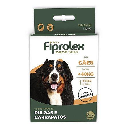 Antipulgas Ceva Fiprolex Para Cães ACIMA 40kg 4,02ml