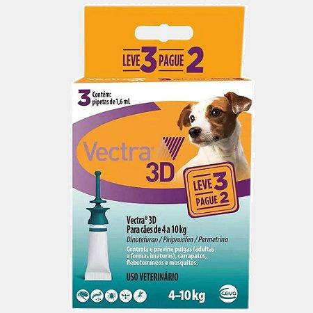 Vectra 3D Cães 4 A 10kg pague 2 leve 3