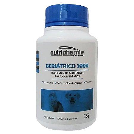Suplemento Vitamínico Geriátrico 1000 30caps Nutripharme