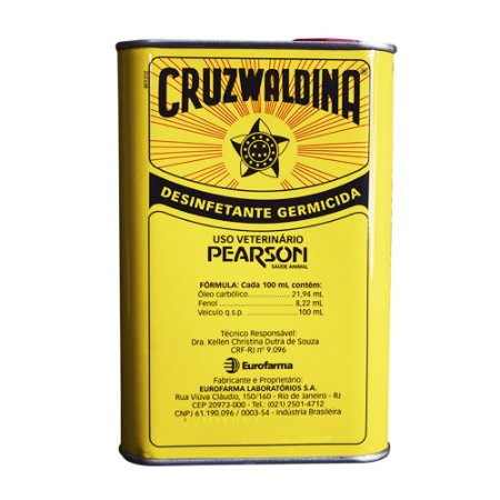 Desinfetante Creolina Cruzwaldina 500ml - Eurofarma