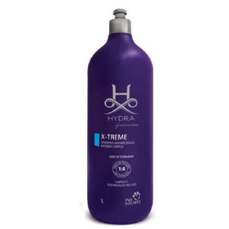 Shampoo Hydra Petsociety X-treme Anti-resíduos 1l
