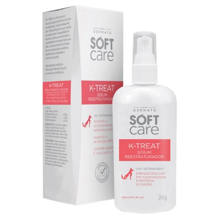 Hidratante Petsociety Soft Care K-Treat Sérum 200g