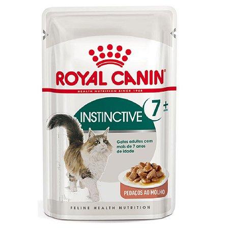 Ração Úmida Royal Canin Gatos Acima de 7 Anos Instinctive 7+ 85g