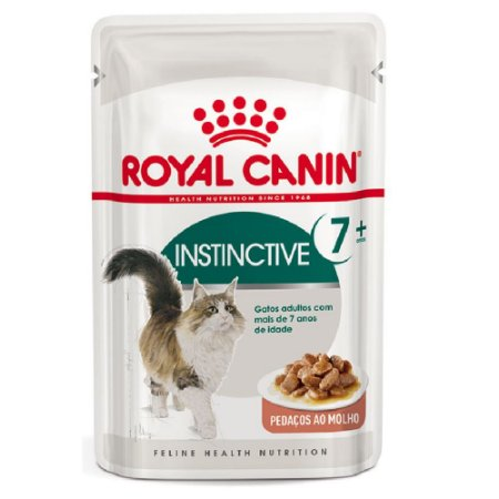 Alimento Para Gatos Sachê Instinctive 7+ 85g - Royal Canin
