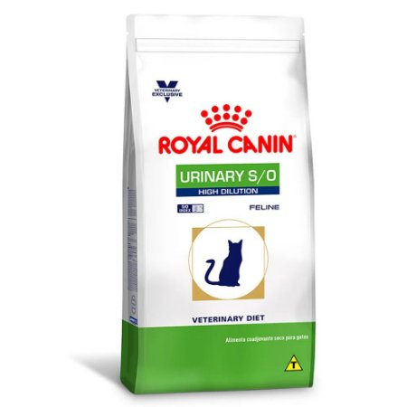 Ração Clínica Feline Urinary High Dilution 7,5kg Royal Canin