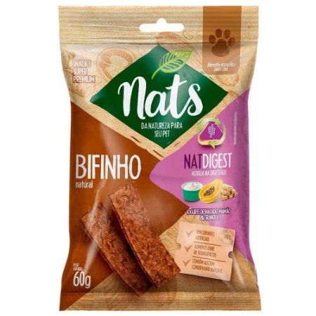 Snack Nats Bifinho Natural NatDigest 60g