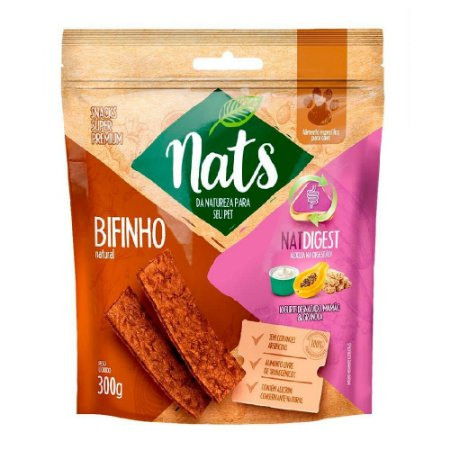 Snack Nats Bifinho Natural NatDigest 300g