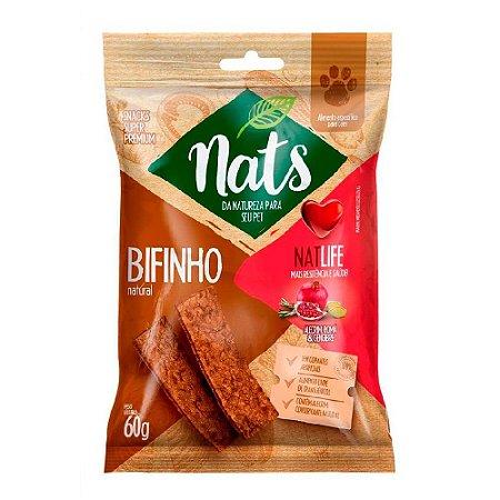 Snack Nats Bifinho Natural NatLife 60g