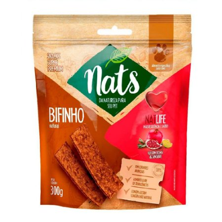 Snack Nats Bifinho Natural NatLife 300g