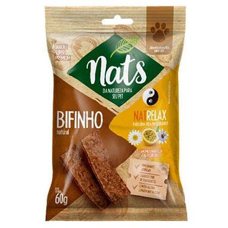 Snack Nats Bifinho Natural NatRelax 60g