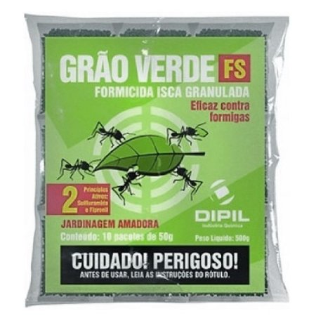 Formicida Grão Verde FS Dipil 500g