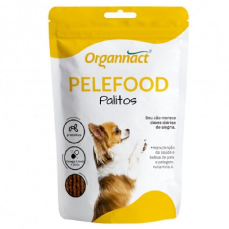 Suplemento Vitamínico Organnact Pelefood Palitos 160G