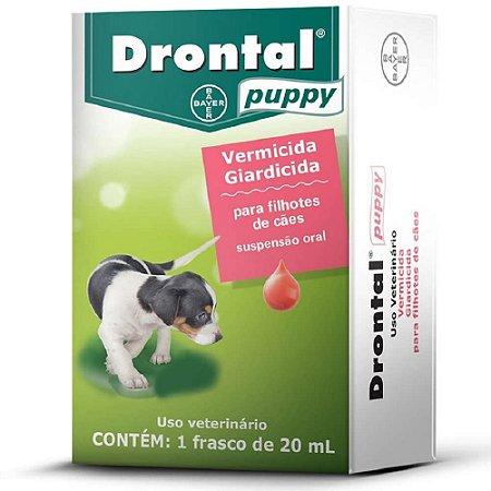 Vermífugo Drontal Puppy 20ml –Bayer