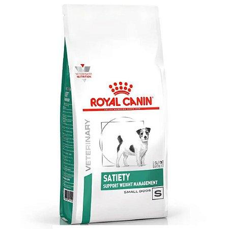 Ração Royal Canin Veterinary Diet Cães Satiety Small Dog 7,5kg