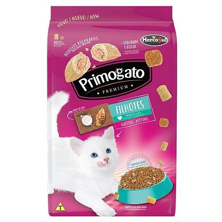 Ração Gatos Primogato Premium Filhotes Frango e Leite 500g