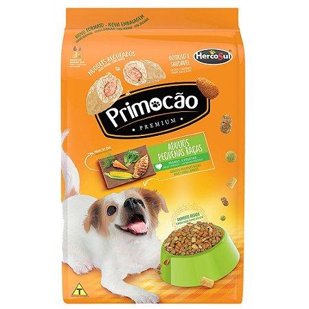 Ração Primocão Premium Cães Adultos Raças Pequenas Frango e Vegetais 1kg - Hercosul