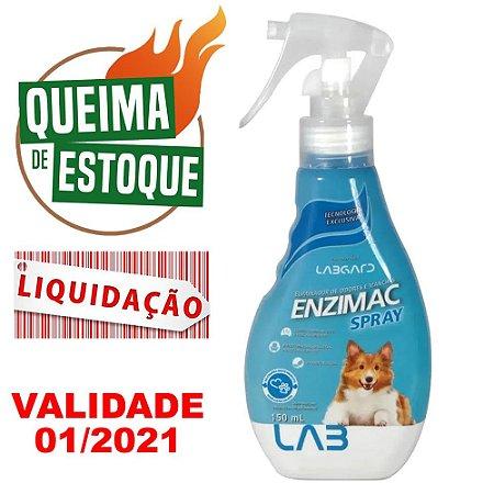 Eliminador De Odores E Manchas EnziMac Cães 150ml - Liquidação