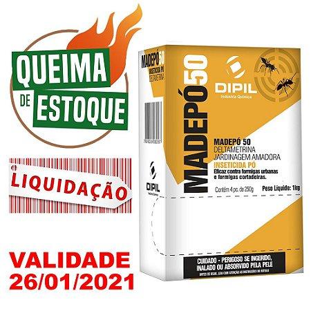 Inseticida Madepó 50 Dipil 1kg - Liquidação