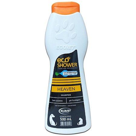 Shampoo Eco Shower Heaven Cães e Gatos 500ml - Ecovet