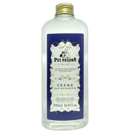 Perfume Pet Passion Cezar 500ml - Colônia