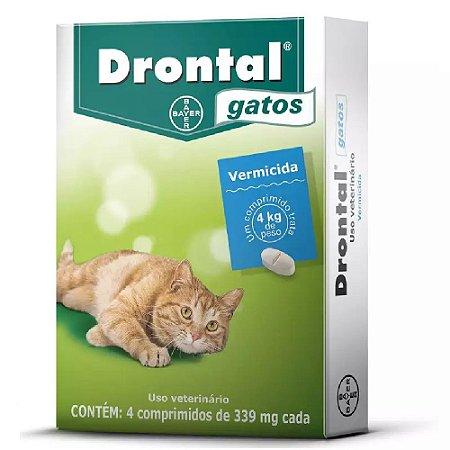 Drontal Gatos 4 Comprimidos - Bayer