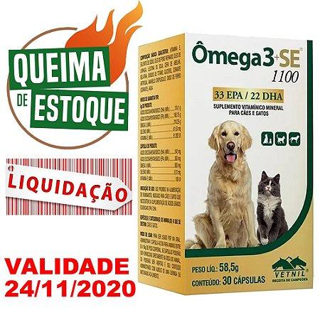 Suplemento Ômega 3+SE 1100 30 Cápsulas - Liquidação