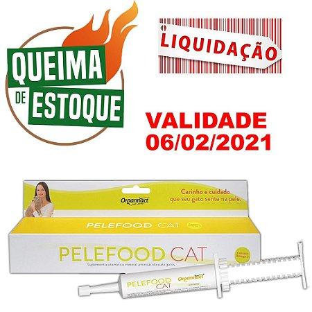 Suplemento Vitamínico Pelefood Cat 35g/28ml - VAL.06/02/21
